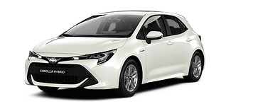 COROLLA active hatchback hybrid pearl wh