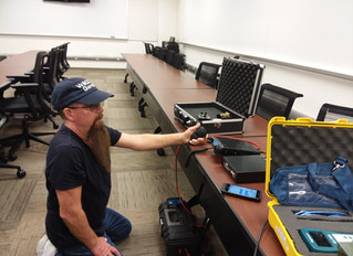 Chaves County ARES - EOC Project Takes Shape