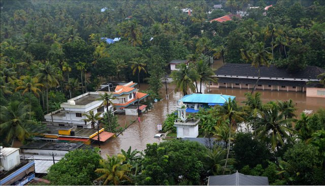 Aerial Image Of Kerala Flood In 2018