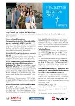 Newsletter TanzStiftung Sept.2018 print-