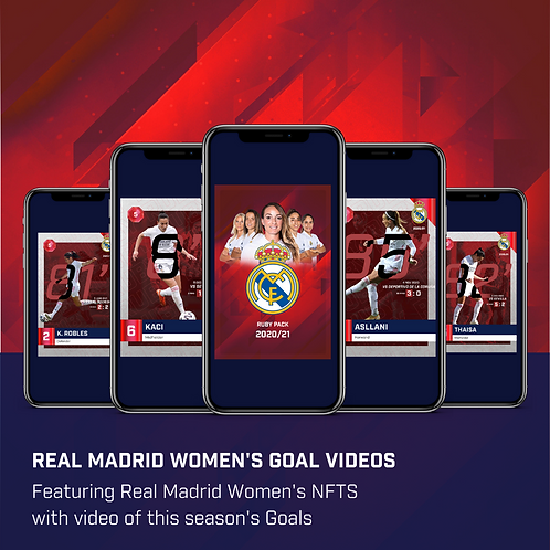 Real Madrid Women's Ruby Pack