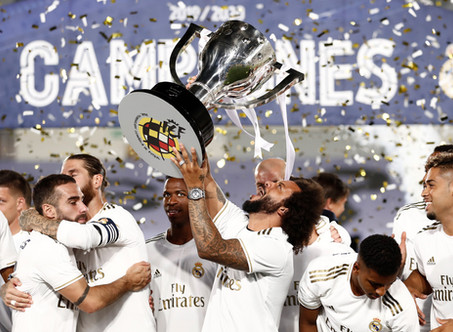 Real Madrid's 19/20 Season Quiz