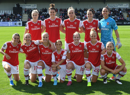 Arsenal Women's 19/20 Season Quiz