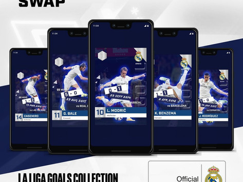 Blockchain collectibles startup Fantastec signs Real Madrid