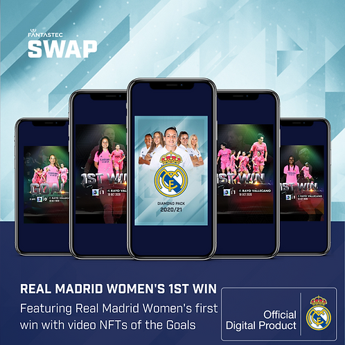 Real Madrid Women's Diamond Pack