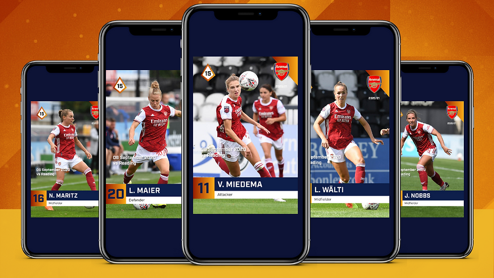 2020/21 League Match Moments - Arsenal WFC vs Reading