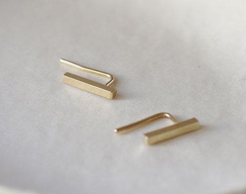 Bar Cuffs/14k gold