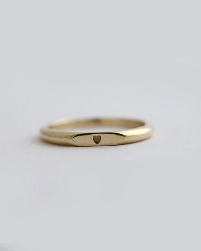 Lev Ring/ 14k gold