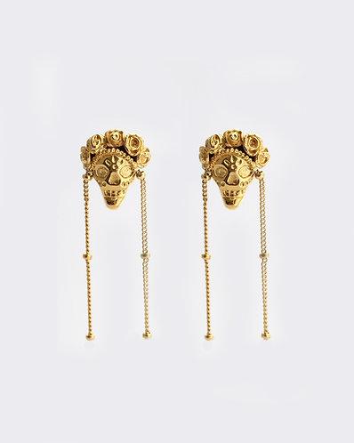 Frida Earrings/ gold