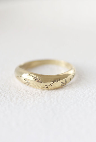 Primavera Ring/ 14k solid gold