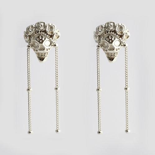 Frida Earrings/ silver