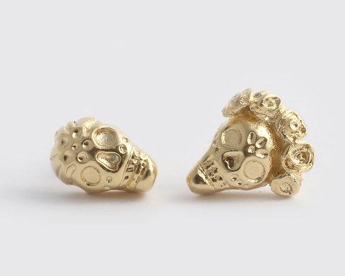 Frida & Diego Earrings/ gold