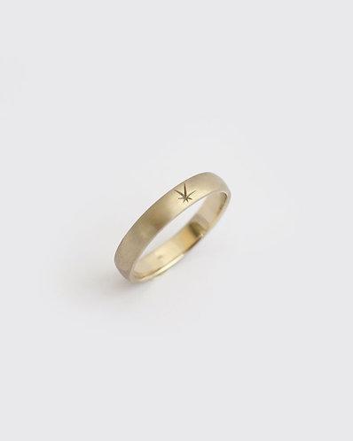 Star Ring/ 14k  gold