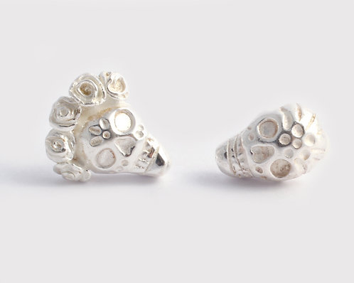 Frida & Diego Earrings/ silver