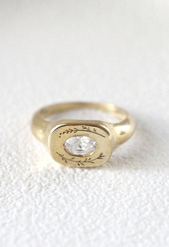 Diamond  Primavera Ring/ 14k solid gold
