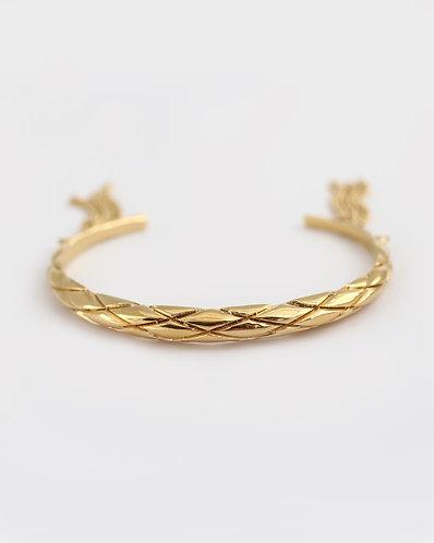 Dragon Skin Bracelet/ gold
