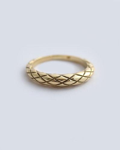 Dragon Skin Ring/ gold