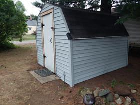Yard shed