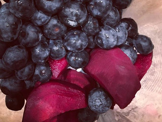 Blueberry Beet Gazpacho