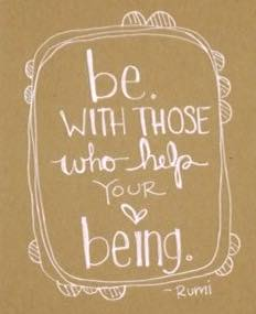 When we are blessed with safe space and kind people who can hold the space for very genuine and vuln