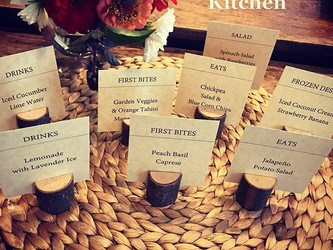 Menu Cards Are Here!