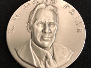 Barty Wins 2018 R.W. Wood Prize