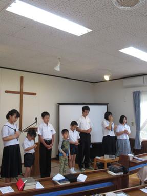 2019.5/5子供祝福式