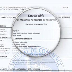 法国创业 | 随时可以下载的免费KBIS