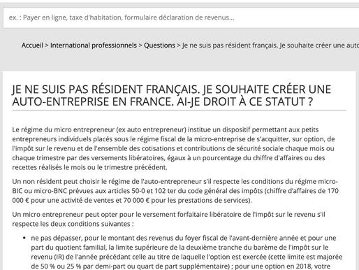 企业服务 | 外国人没居留可以在法国开公司