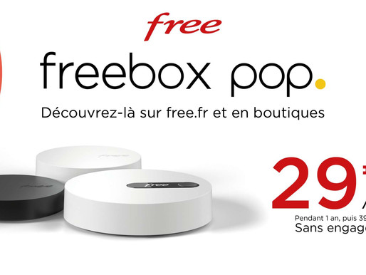 FREEBOX POP 最新的网盒