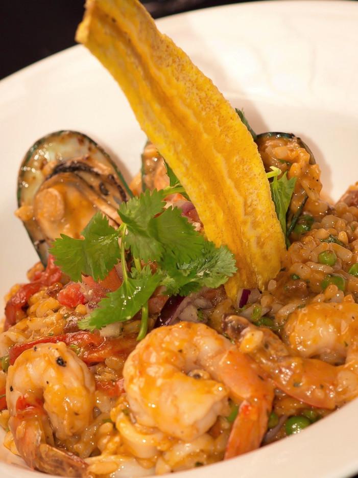 Selva's Seafood Paella
