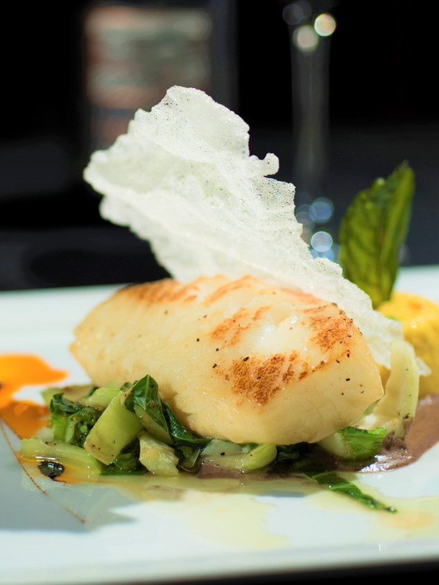Mirin Roasted Chilean Seabass