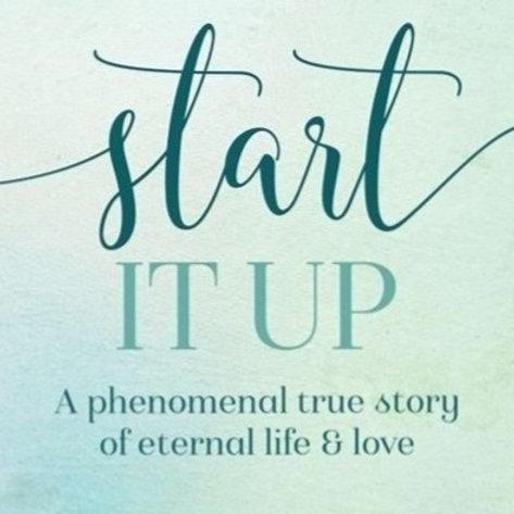 Personalized copy of Rachel's memoir, Start It Up