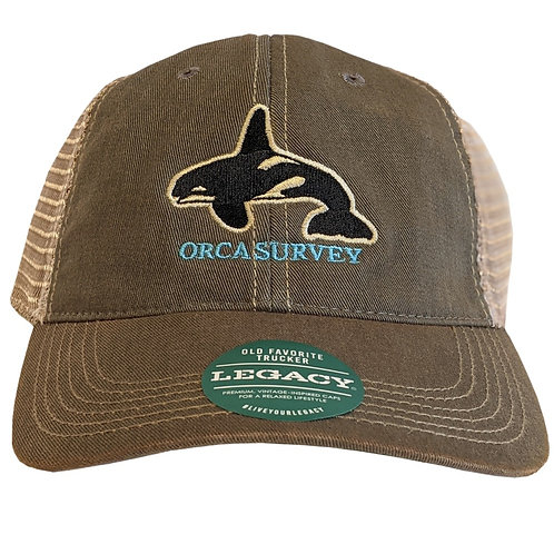 Center for Whale Research Orca Survey Cap