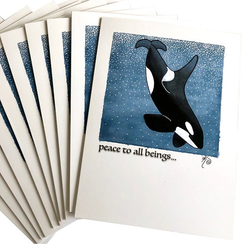 Holiday Cards / peace to all beings ...