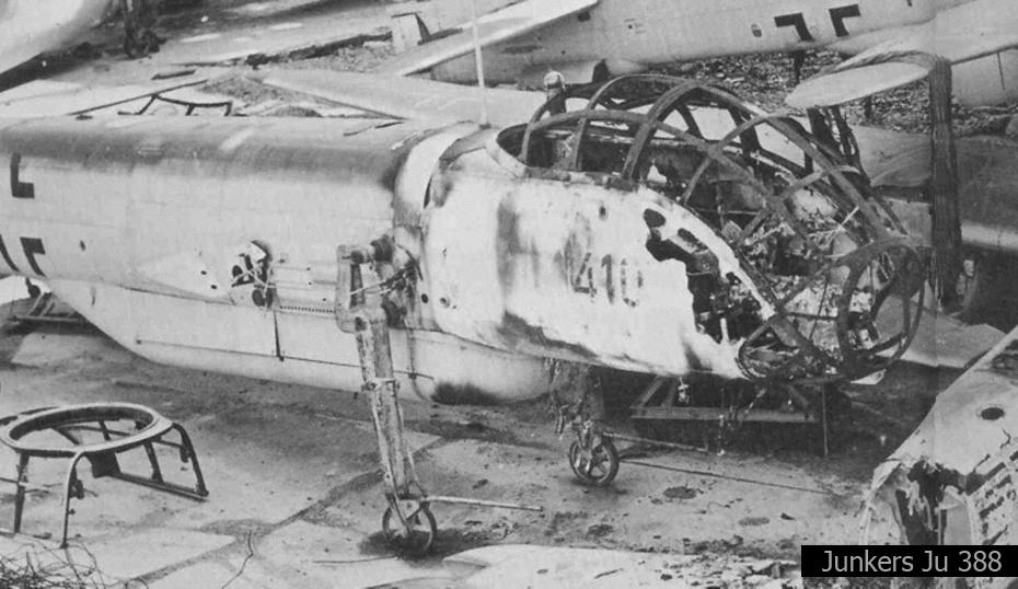 Kriegsbeute Ju 388