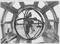 Kuppellafette Attrappe He 111 B