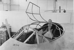 Me 329 mit Periskopvisier