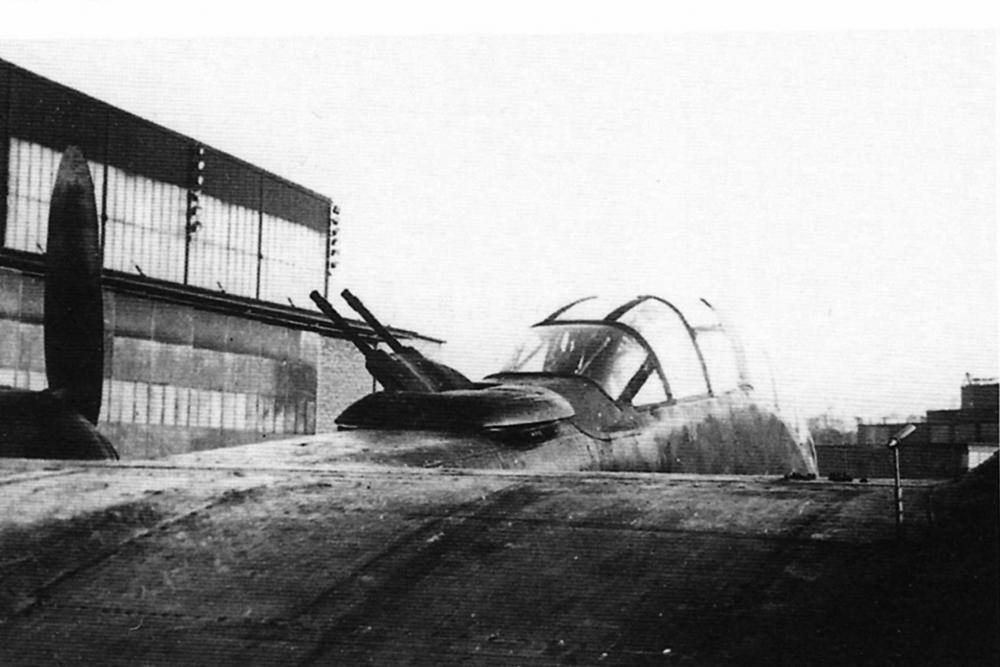 Ju 288 und einem FDL 131