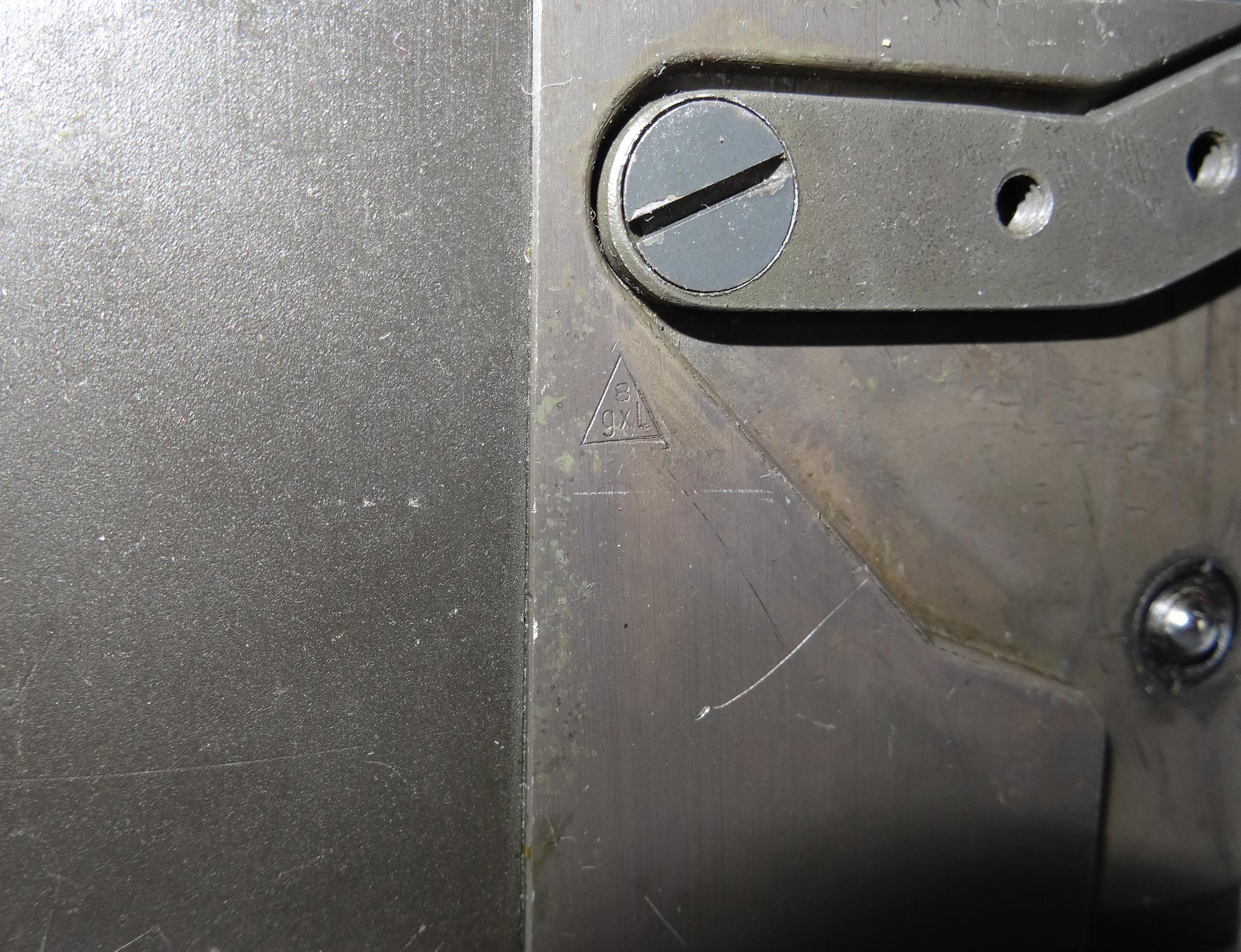 gxl - Hersteller Stempel