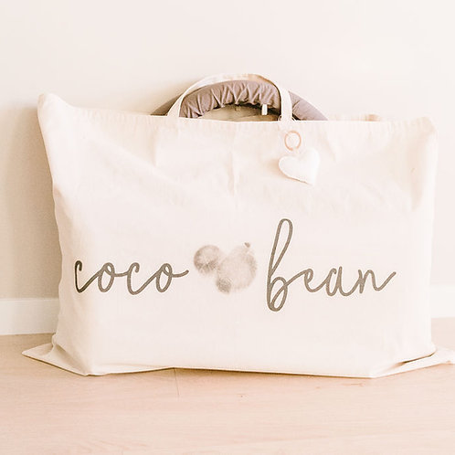 Coco Bean calico bag