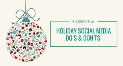 節日假期的社交媒體推廣 5個 DO & DON'T
