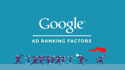 谷歌廣告排名:你不可以不知道的影響因素及無法控制的事項 (一)