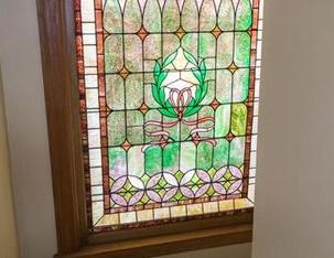 Apt 2 - Stain Glass Window