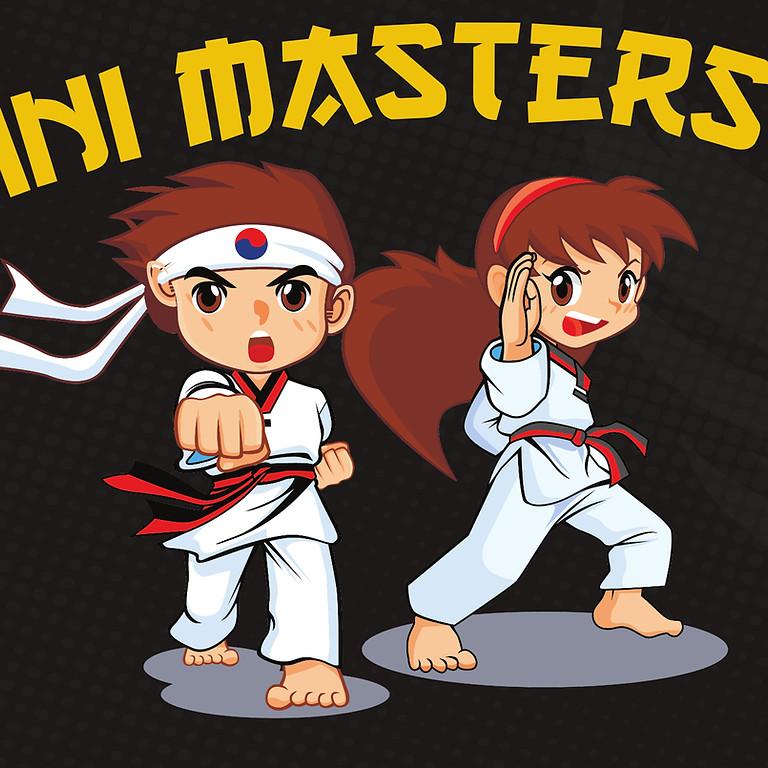 Grading Term 2 2021.  Mini Masters (4-6yrs) for Mini Kicker Attendees