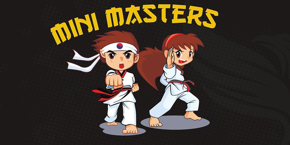 Grading Term 1 2021.  Mini Masters (4-6yrs) for Mini Kicker Attendees