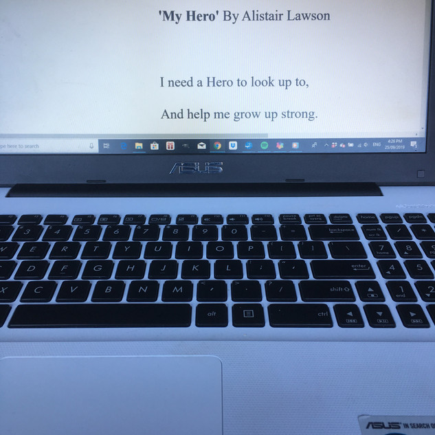 First Stage in writing - write