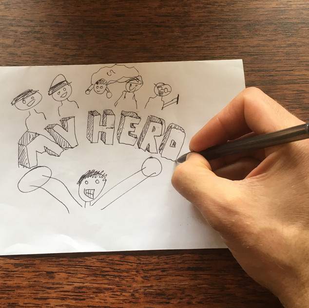 Creating the first image for the book