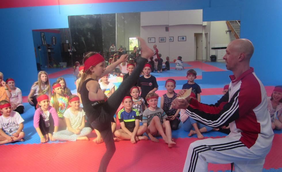 Taekwondo party Torquay
