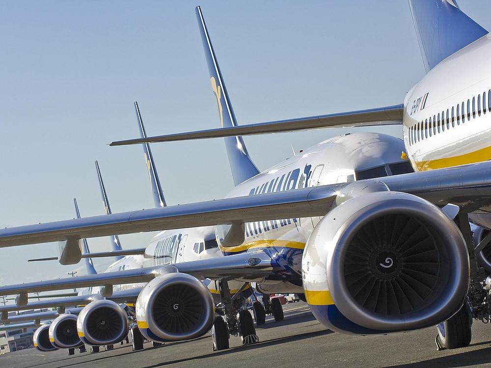 Ryanair Boeing airplanes 737-800